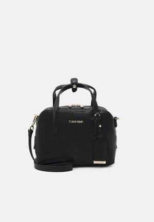 MUST BOWLING BAG LIZARD - Handbag - black