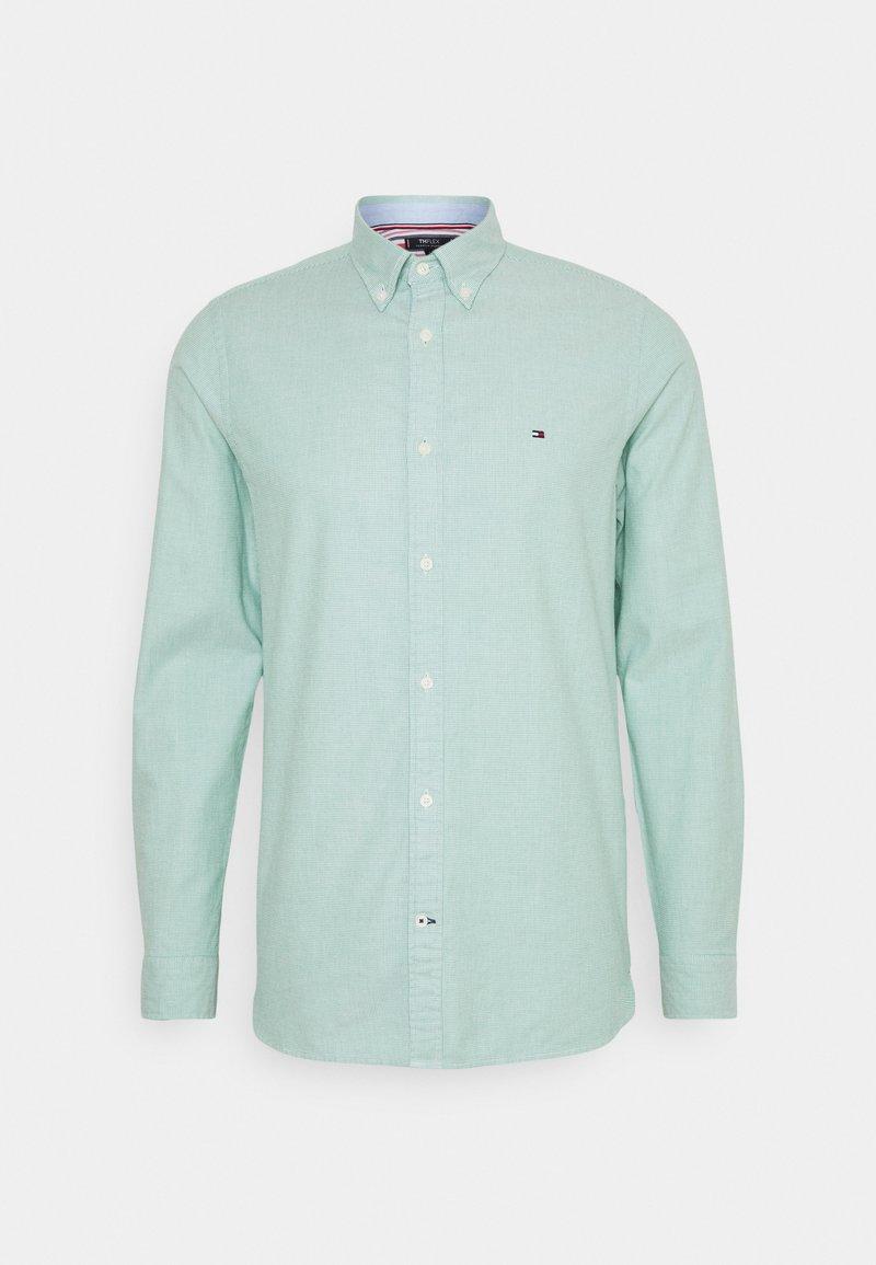 Tommy Hilfiger - SLIM FLEX DOBBY - Shirt - courtside green