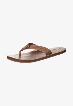 DRAFTSMAN - T-bar sandals - bronze brown