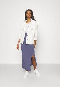 Even&Odd - Maxi skirt - lilac - 1