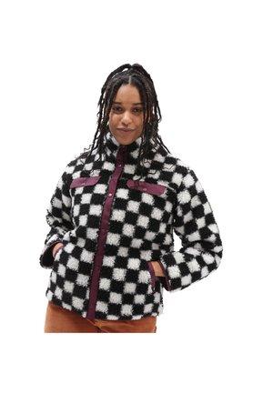 Winter coat - checkerboard