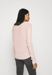 Missguided - OPHELITA OFF SHOULDER JUMPER - Pullover - rose - 2