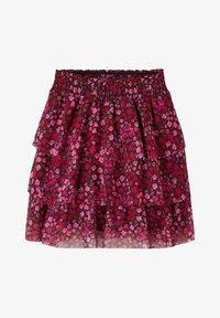 Name it - Pleated skirt - fuchsia purple - 0