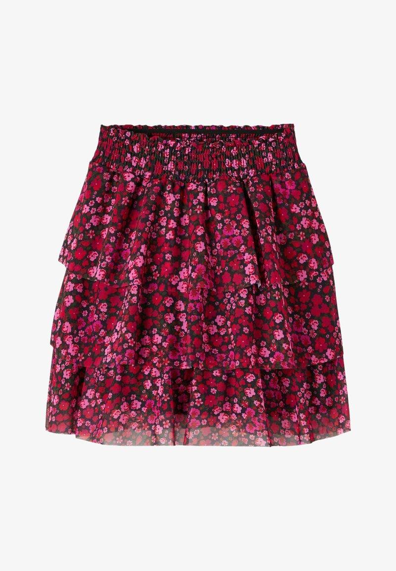 Name it - Pleated skirt - fuchsia purple