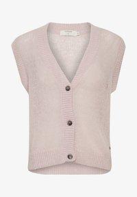 Cream - Waistcoat - burnished lilac - 4