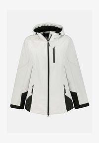 Ulla Popken - Soft shell jacket - offwhite - 1
