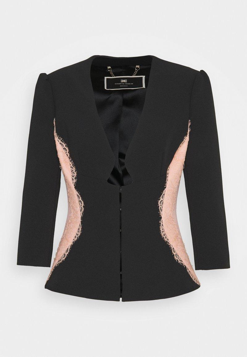 Elisabetta Franchi - Blazer - nero/rosa antico