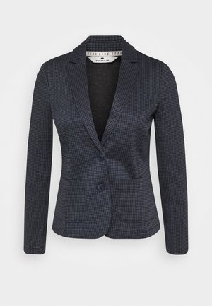 BLAZER CHECKED - Blazer - grey houndtooth
