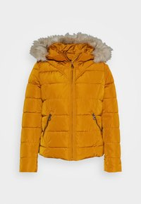 Vero Moda Petite - VMMOLLIE SHORT JACKET - Light jacket - buckthorn brown - 5