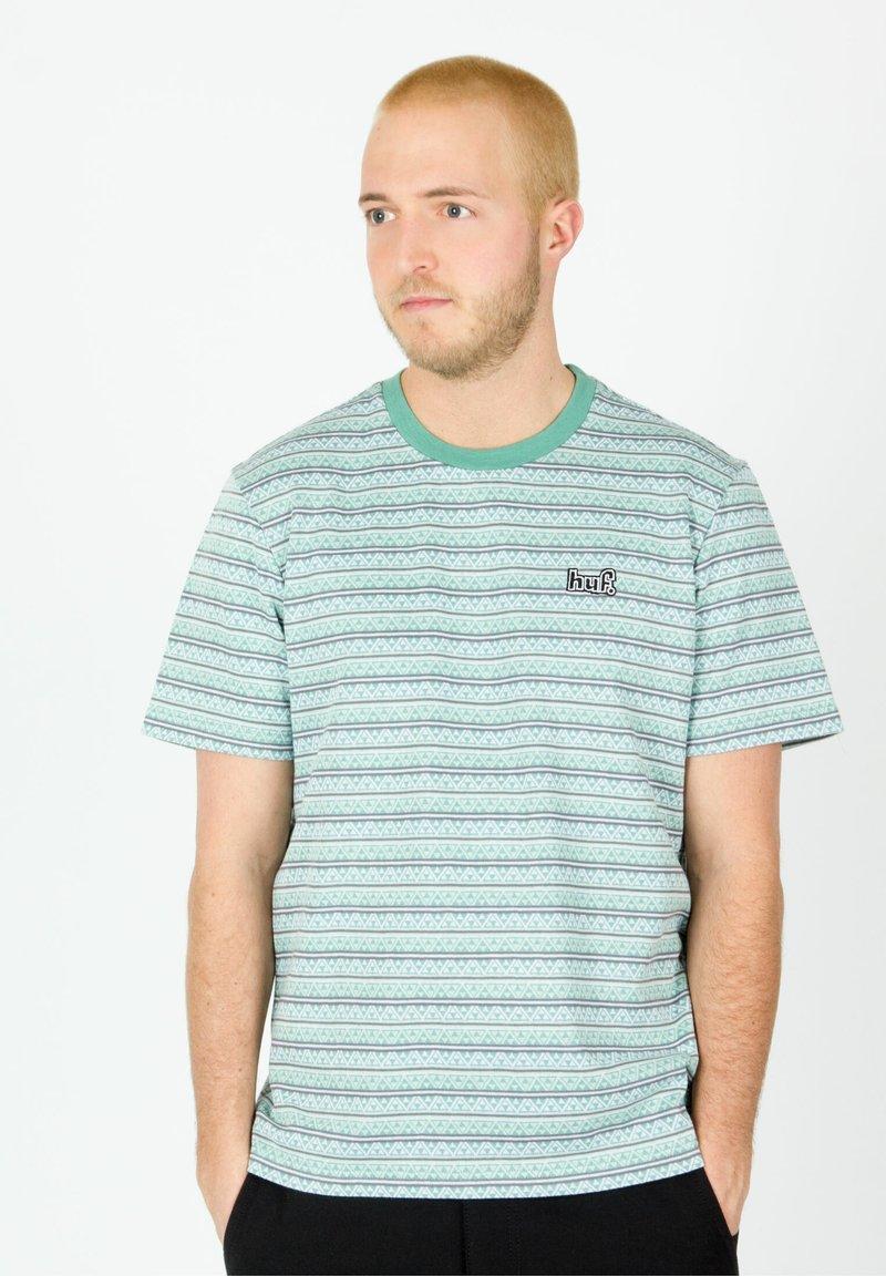 HUF - Print T-shirt - harbor grey