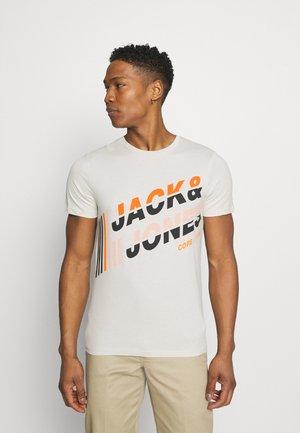 JCOALPHA TEE - T-shirt med print - silver birch