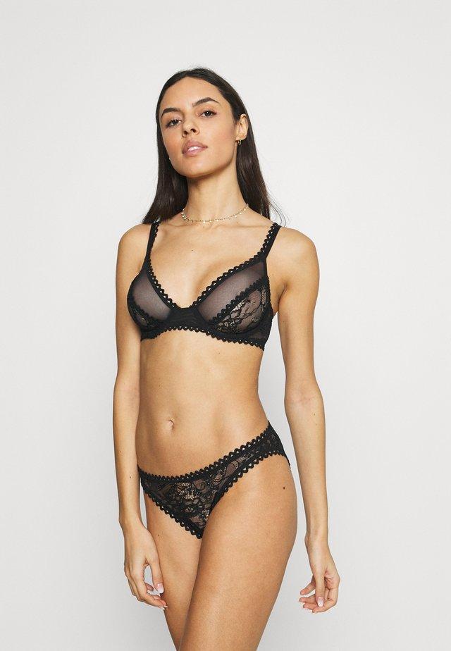 KIKI UNDERWIRE BRA - Underwired bra - black