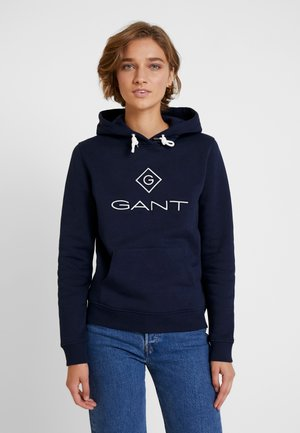 LOCK UP HOODIE - Sweat à capuche - evening blue