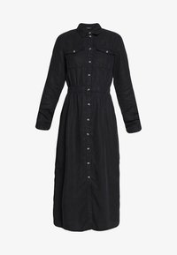 PCNOLA DRESS - Skjortekjole - black