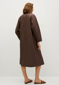 Mango - Classic coat - marron - 1