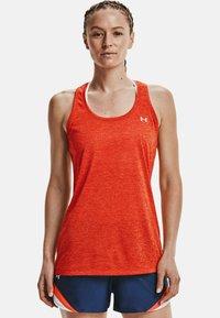 Under Armour - TECH TWIST DAMEN - Sports shirt - orange - 0