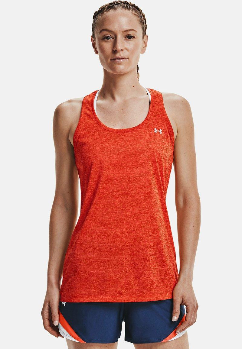 Under Armour - TECH TWIST DAMEN - Sports shirt - orange