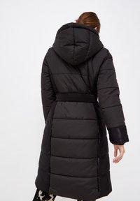 Liu Jo Jeans - LONG HOODED - Winter coat - black - 2