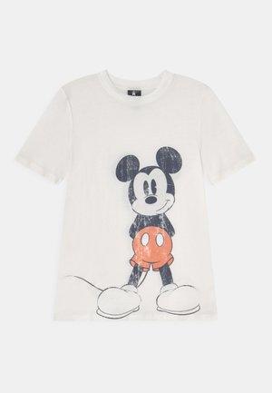 TEEN DISNEY TEE - Print T-shirt - retro white