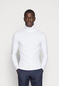 Pier One - Maglietta a manica lunga - white - 0