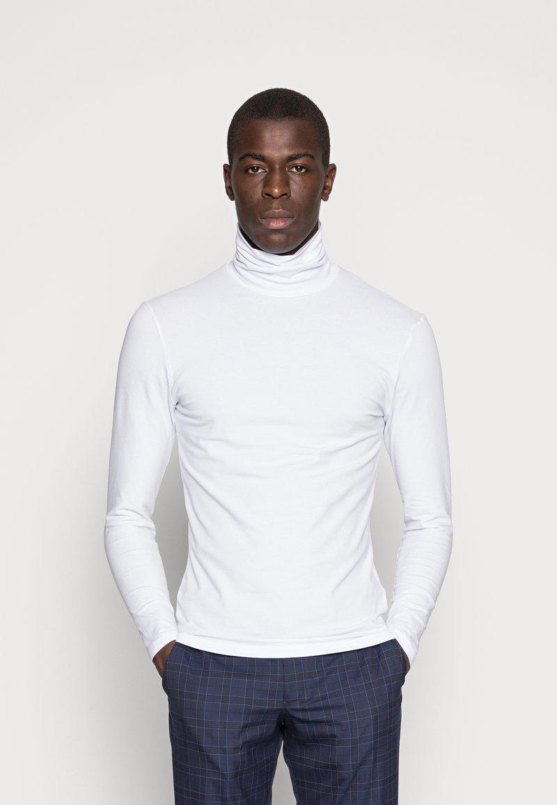 Pier One - Maglietta a manica lunga - white