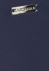 LASCANA - HIGHWAIST - Bikini bottoms - navy - 6