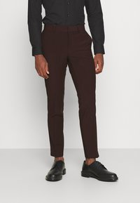 Isaac Dewhirst - THE TUX - Kostym - bordeaux - 4