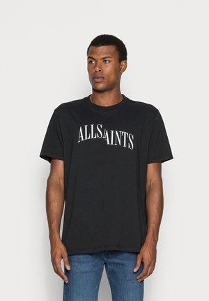 DROPOUT  - T-shirt con stampa - jet black