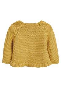 Next - PINK FRILL HEM - Cardigan - yellow - 1