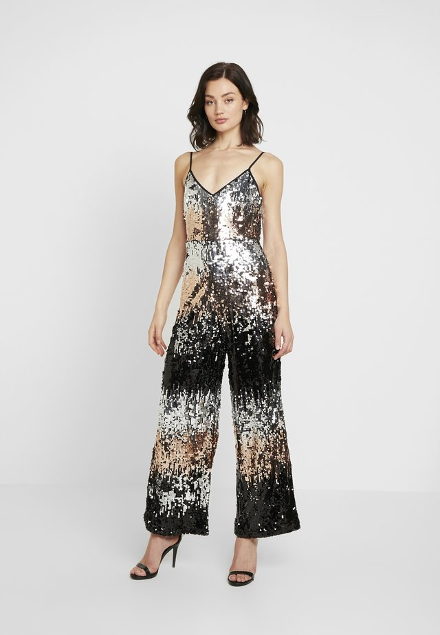 STRAPPY SEQUIN - Tuta jumpsuit - bronze
