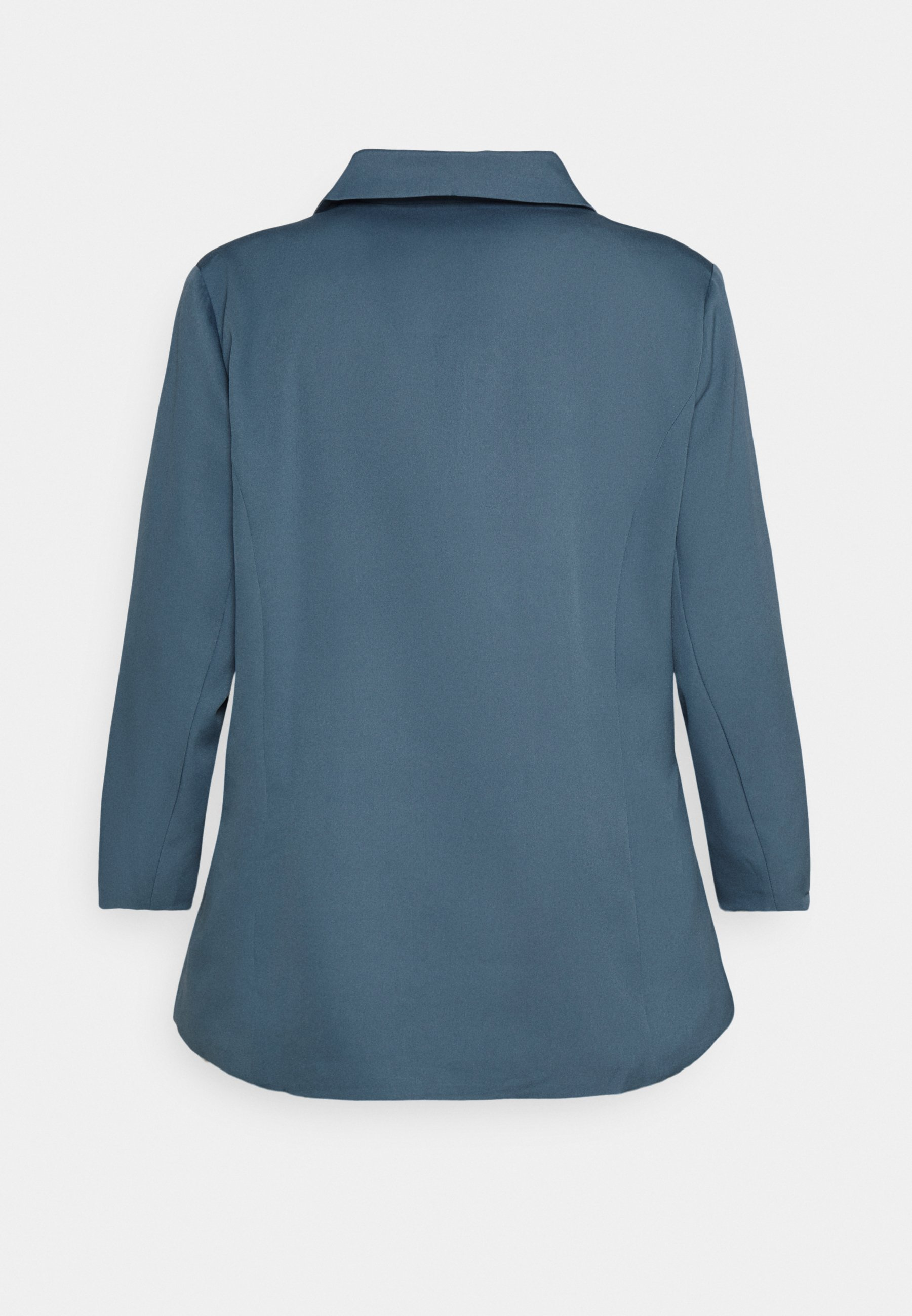 Missguided Plus Grandad Side Split - Blazer Blue