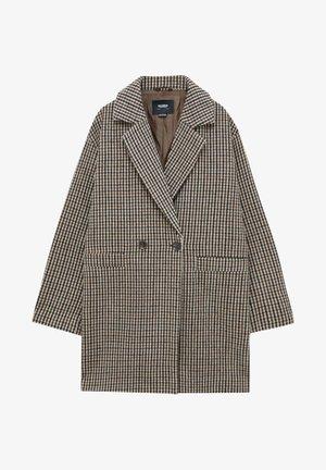MIT FALLENDEN ÄRMELN - Classic coat - mottled brown