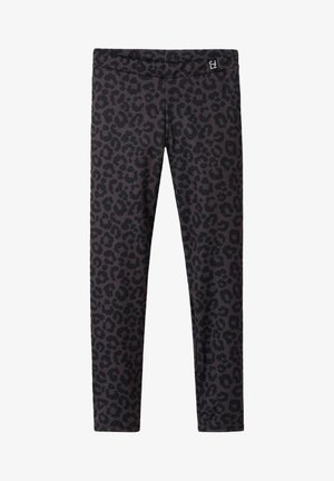 Leggings - Trousers - animalier grigio