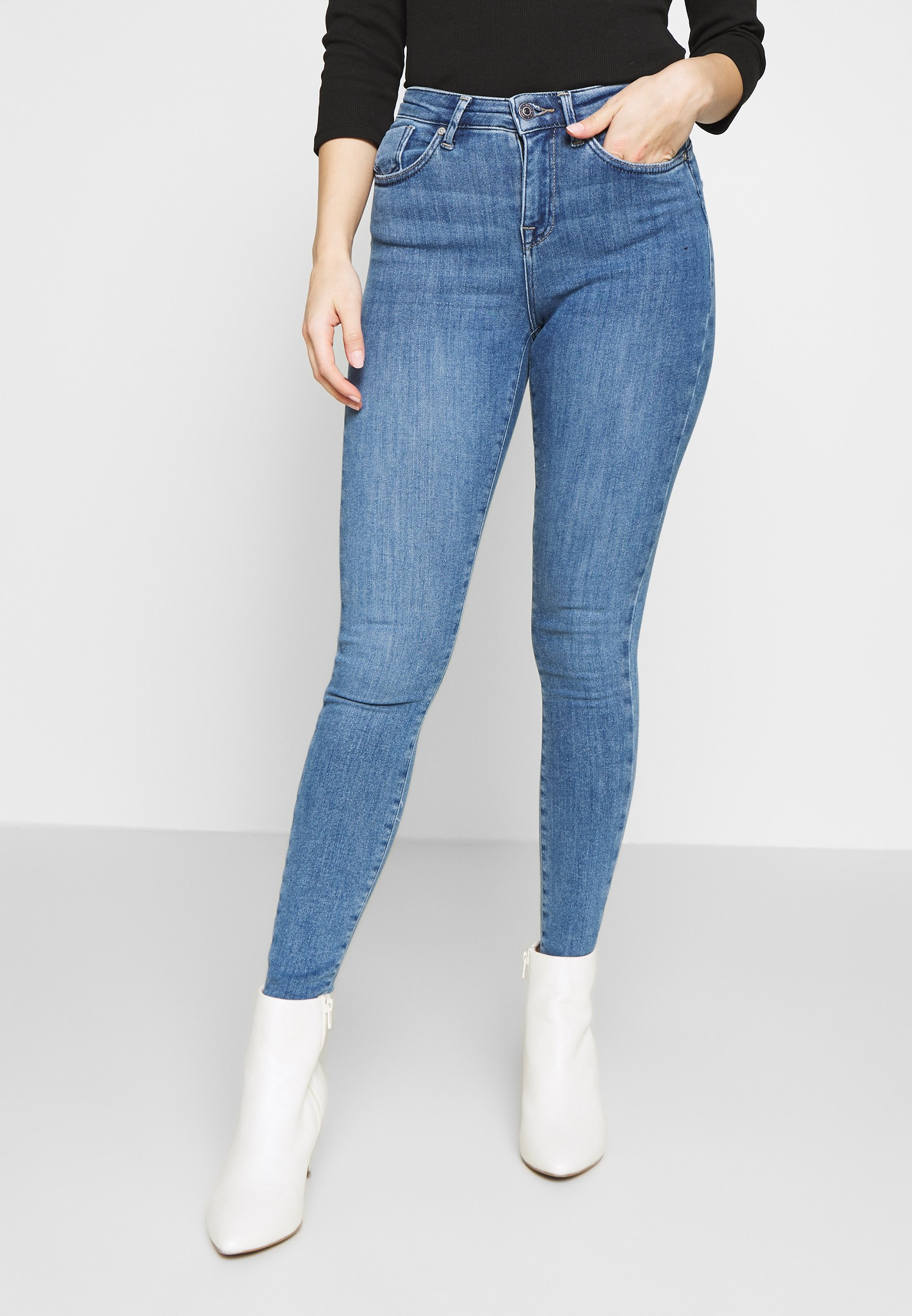 Donna ONLPOWER MID PUSH UP - Jeans Skinny Fit