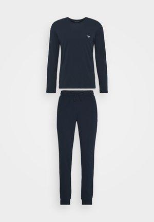 TROUSERS - Bas de pyjama - blu navy