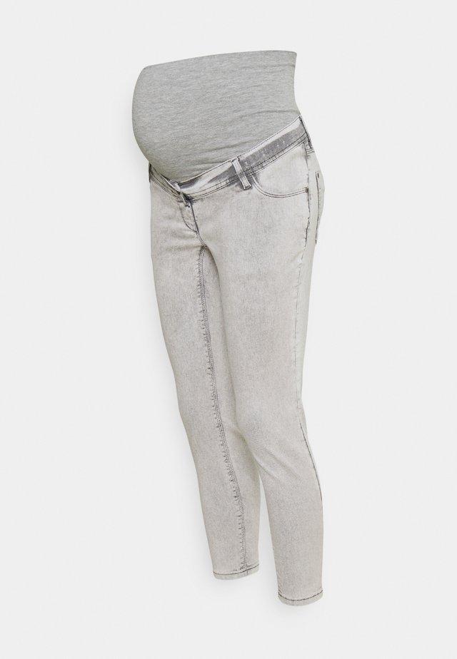 CROPPED - Skinny džíny - grey denim