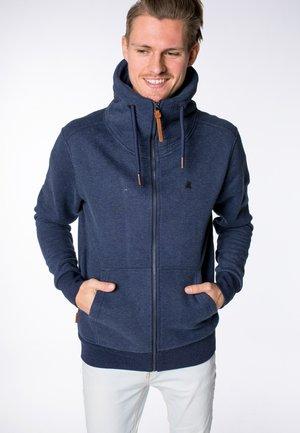 ELIAS - Zip-up hoodie - marine
