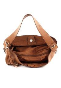 FREDsBRUDER - SOFT ALA - Handbag - dark camel - 6
