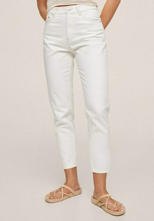 Jeans Tapered Fit - white