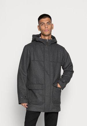 JJFELIX COAT - Classic coat - dark grey melange