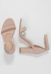 ALDO - JERAYCLYA - Sandaler med høye hæler - bone - 3