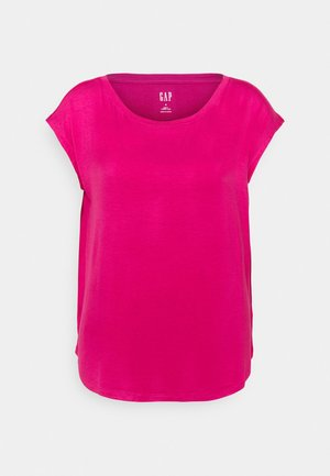 LUXE  - Basic T-shirt - royal fuchsia