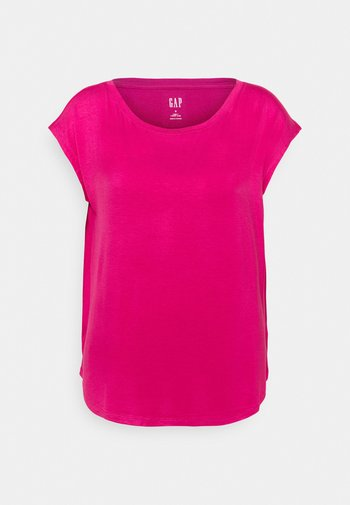 LUXE  - T-shirts - royal fuchsia