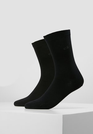 CREW  2 PACK  - Socks - black