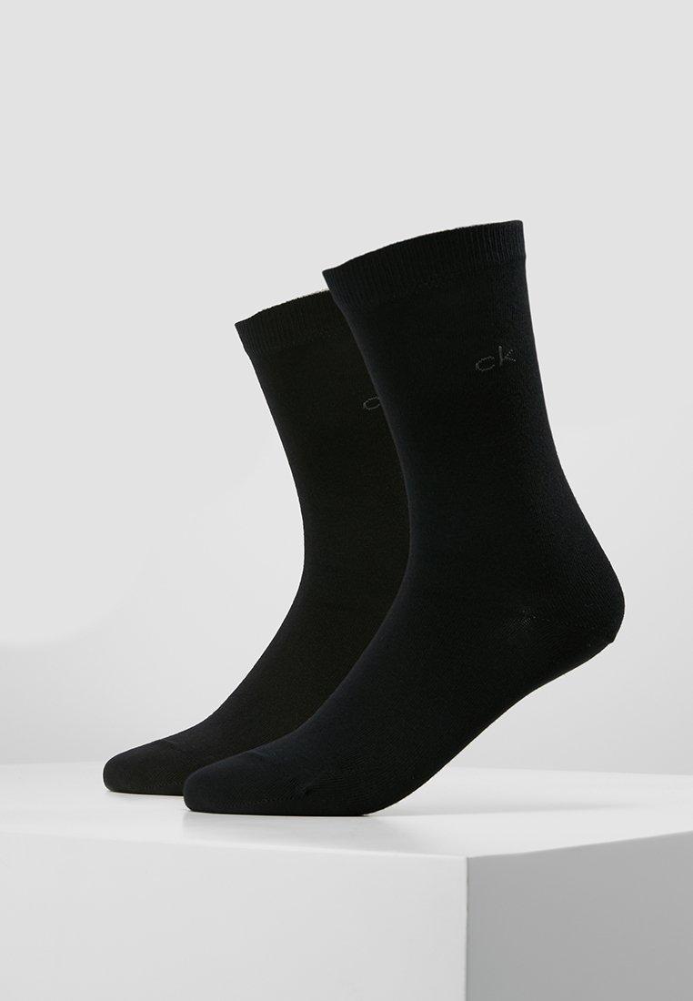 Calvin Klein Underwear - CREW  2 PACK  - Socks - black