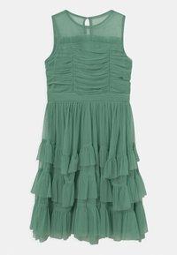 Anaya with love - SLEEVELESS RUFFLE DRESS - Koktejlové šaty/ šaty na párty - clover green - 0