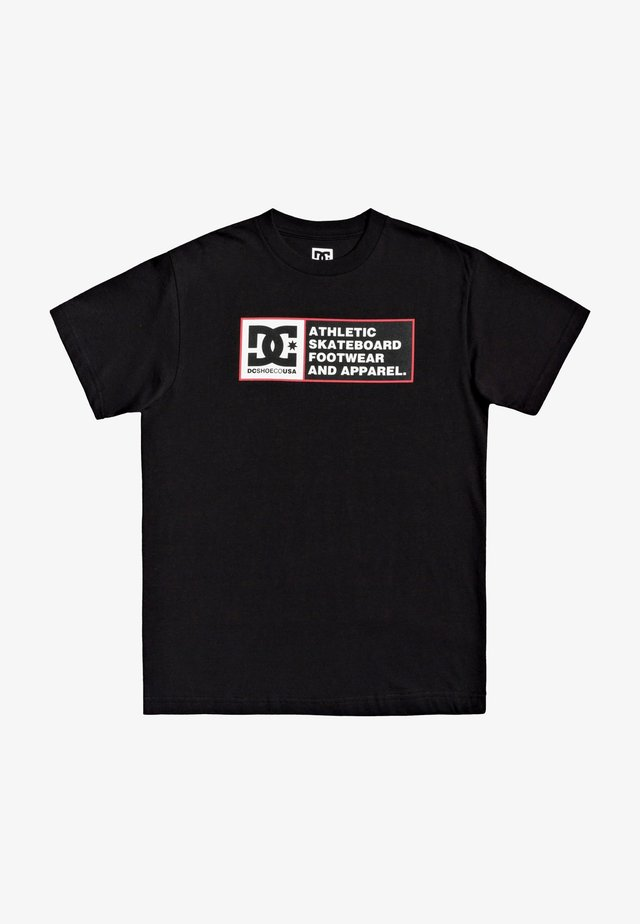 DENSITY ZONE - T-shirt imprimé - black