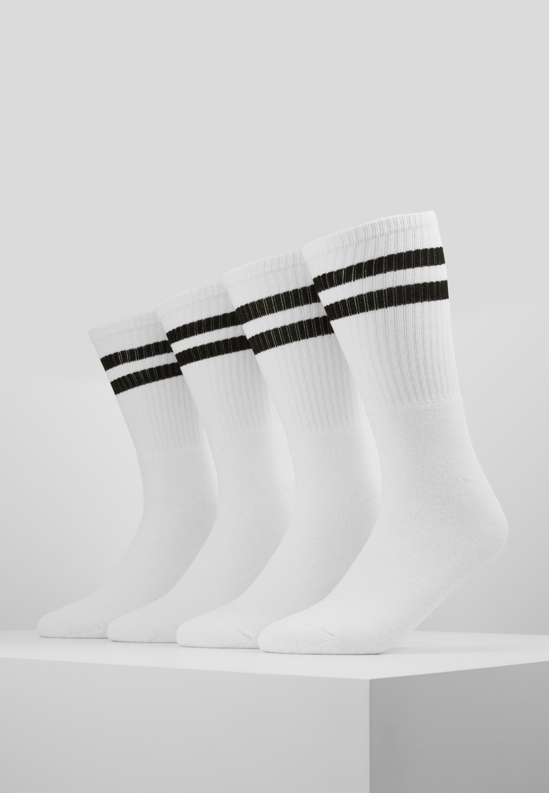 Topman - TUBE SOCKS 4 PACK - Chaussettes - white