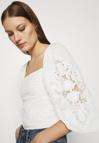 Farm Rio - BLOUSE - Long sleeved top - off-white - 4