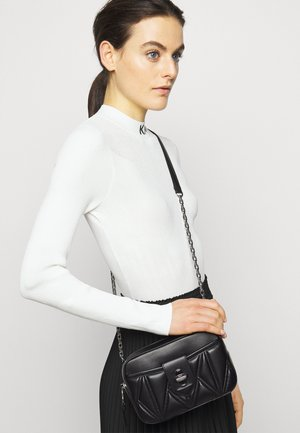 STUDIO ZIP CAMERA BAG - Sac bandoulière - black